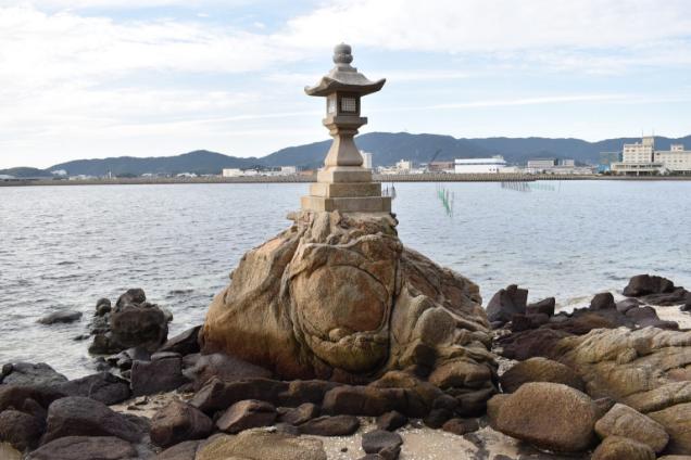 竹島八景 焙烙岩,ほうろくいわ